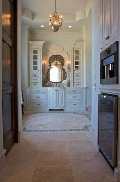 Mediterranean Bathroom by Heritage Design Studio
