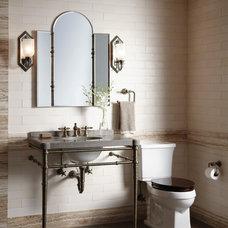 Industrial Bathroom by Kallista Plumbing