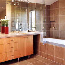 Modern Bathroom by House + House Architects