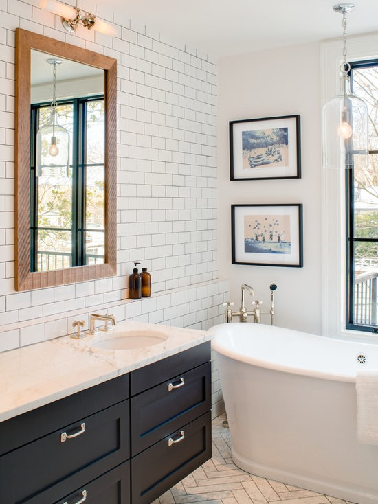 Bathroom Tiles With Dark Grout tile with dark grout | houzz