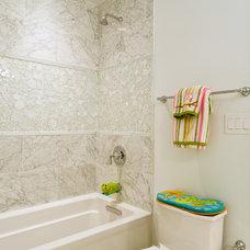 Transitional Bathroom by J Allen Smith Design/Build