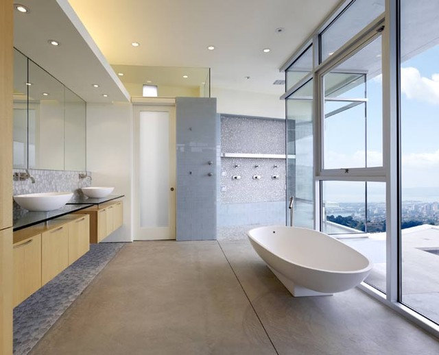 Modern Bathroom by Kanner Architects - CLOSED