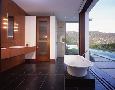 Modern Bathroom By Kanner Architects   CLOSED Part 56