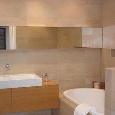 Contemporary Bathroom by Lake Road Interior Design