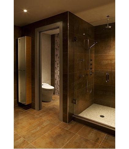 Contemporary Bathroom by Karen Luria Interior Identity Inc.