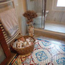 Traditional Bathroom by Karoistanbul Encaustic Cement Tile