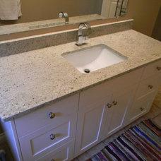 Traditional Bathroom by BG Granite LTD