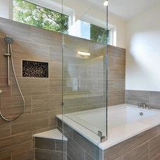 Contemporary Bathroom by Brett Grinkmeyer
