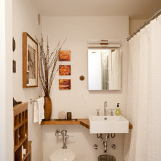 Eclectic Bathroom by Chris A. Dorsey Photography