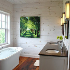 Contemporary Bathroom by Kate Davidson Design Inc
