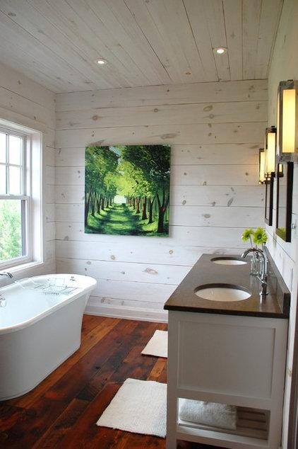 Contemporary Bathroom by Kate Davidson Design Inc
