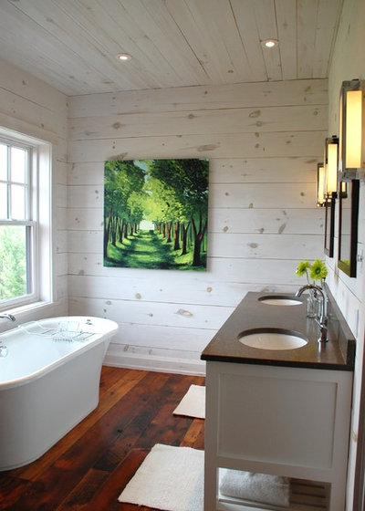 Contemporary Bathroom by Kate + Co Design Inc.