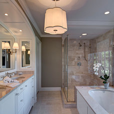 Traditional Bathroom by 2e Architects