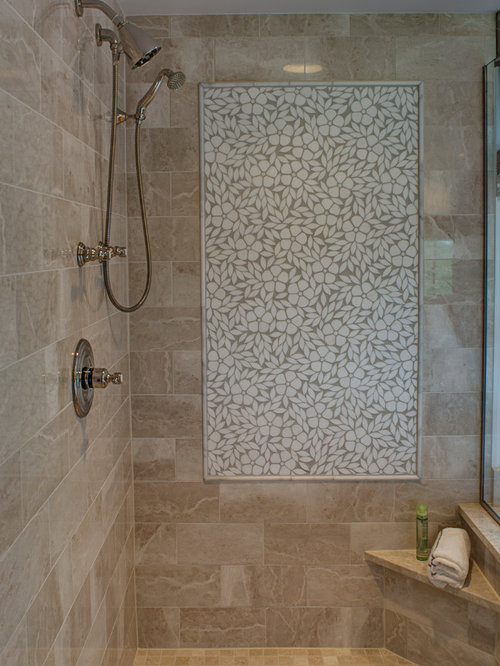 Earth tone tile ideas pictures remodel and decor for Earth tone bathroom ideas