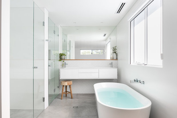 Contemporary Bathroom by X-space Architects