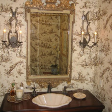 Traditional Bathroom by Kathleen Burke Design