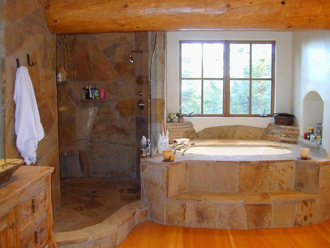 Traditional Bathroom by Kathleen Burke Design