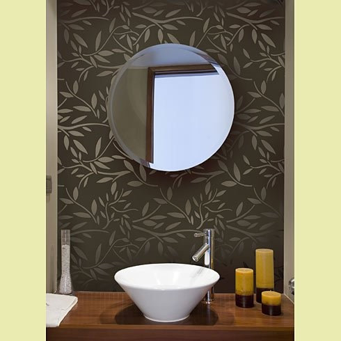 Bathroom Wall Stencils Ideas Pictures Remodel and Decor