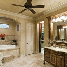 Mediterranean Bathroom by Tatum Building Corp