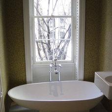 Modern Bathroom by Katkin Architecture