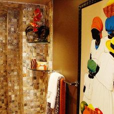 Contemporary Bathroom by J M Applegate Designs LLC