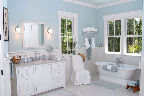 Traditional Bathroom by Cole Design Studio, LLC
