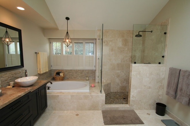 Traditional Bathroom by Kitchens of Diablo