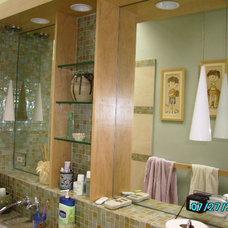 Asian Bathroom by Design Etc.