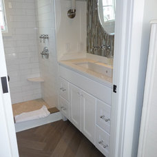 Beach Style Bathroom by kelley gardner