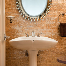 Contemporary Bathroom by Kelly Cleveland Interiors