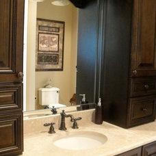 Traditional Bathroom by Christina Cavin