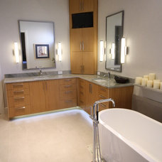 Modern Bathroom by Hatfield Builders & Remodelers