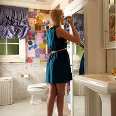 Eclectic Bathroom by Kelly Mack Home