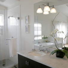 Eclectic Bathroom by Kelly Scanlon Interior Design