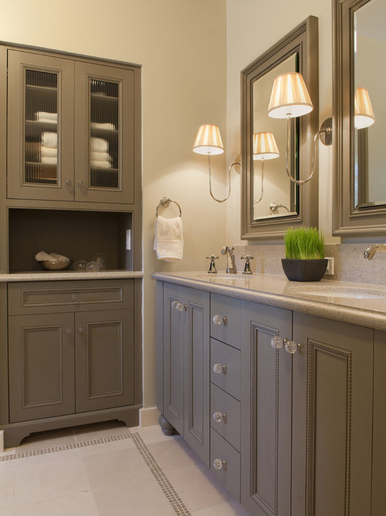 Bathroom Cabinets Knobs cabinet knob placement ideas | houzz