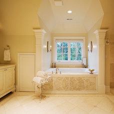Traditional Bathroom by R.S. Stapleton Company - Custom Cabinetry