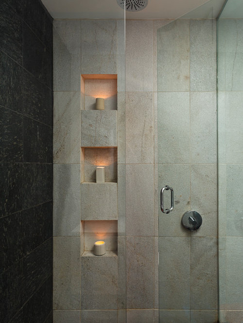 Tiled Shower Niche Home Design Ideas Pictures Remodel