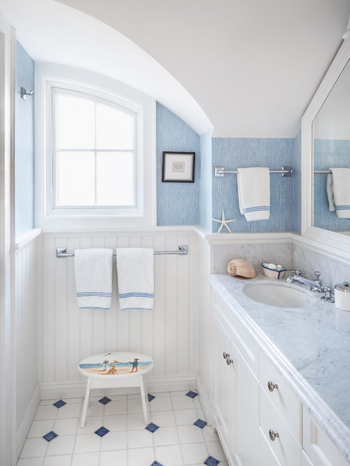 white wainscoting bathroom white wainscoting houzz 15165