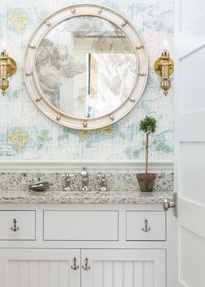 Beach Style Bathroom by Hurlbutt Designs
