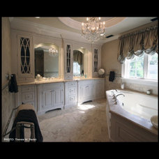 Traditional Bathroom by Letitia Holloway