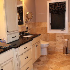 Transitional Bathroom by All About Interiors LLC