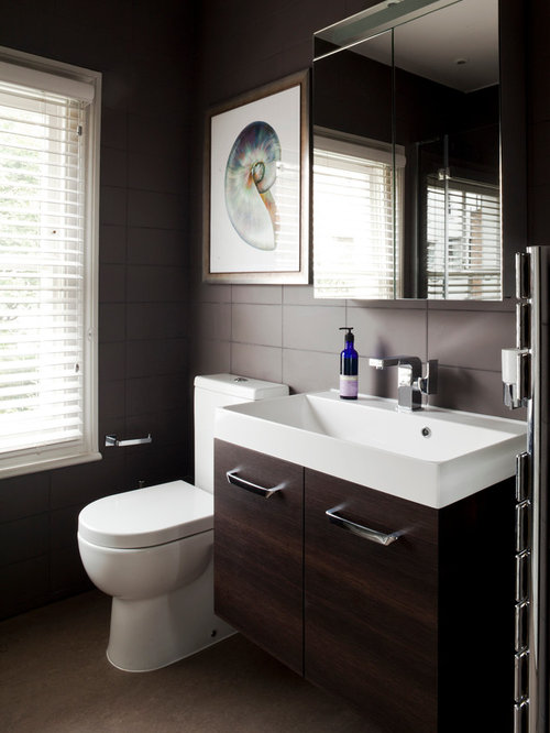 Chocolate Bathroom Houzz