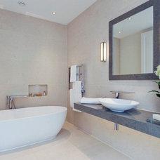 Contemporary Bathroom by Avid Design Creative Interiors