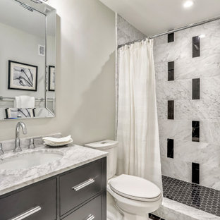 Example of a transitional bathroom design in DC Metro