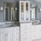 Wainscoting Traditional Bathroom Seattle By