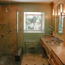 Mediterranean Bathroom by David Ludwig - Architect