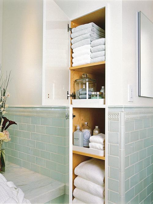 Mold In Bathroom Linen Closet custom built linen closet | houzz