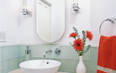 Dare to Add Color to the Bathroom