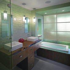 Contemporary Bathroom by Wascha Studios