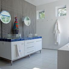 Eclectic Bathroom by Alan Hoffmann Company